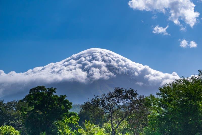 Eiland Ometepe in Nicaragua stock foto's
