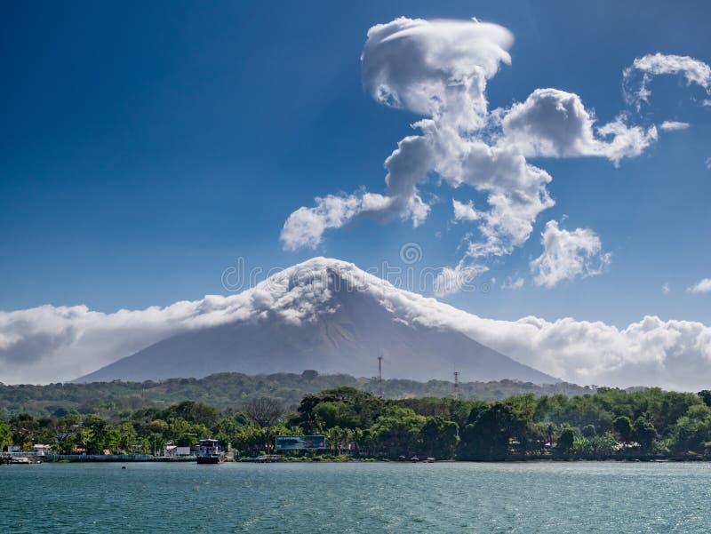 Eiland Ometepe in Nicaragua royalty-vrije stock afbeelding