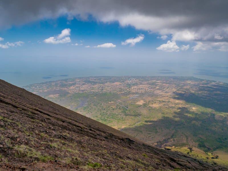 Eiland Ometepe in Nicaragua royalty-vrije stock foto's
