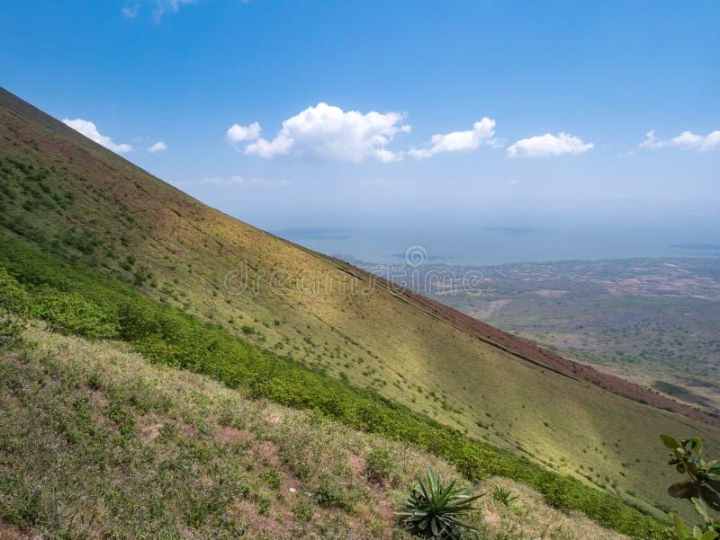 Eiland Ometepe in Nicaragua stock afbeeldingen