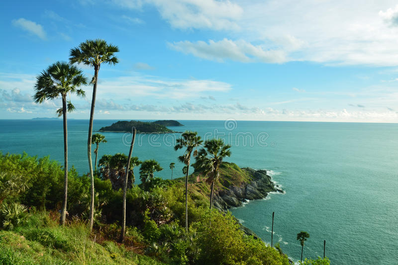 Eiland Thailand, phuket provincie stock afbeelding