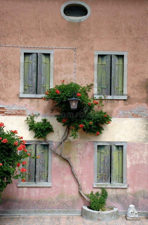 Eiland Torcello in de lagune van Venetië royalty-vrije stock foto's