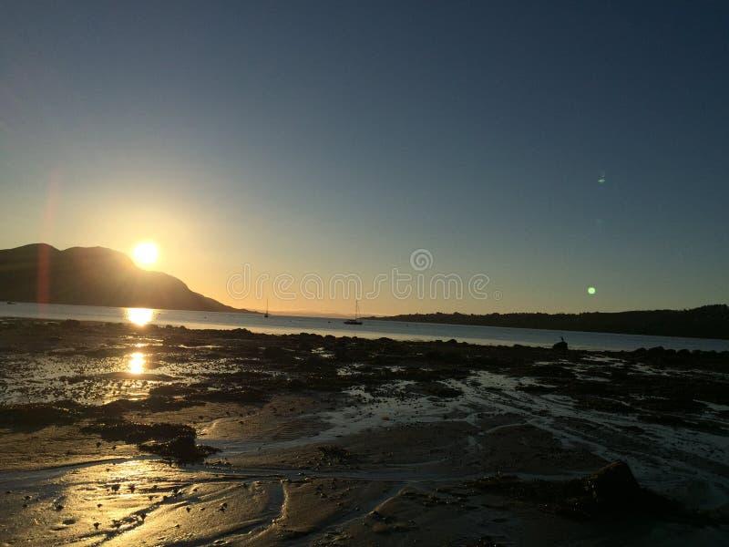 Eiland van Arran stock afbeelding