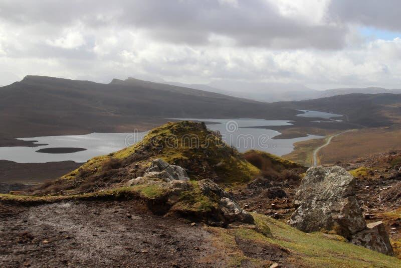 eiland van skye stock fotografie