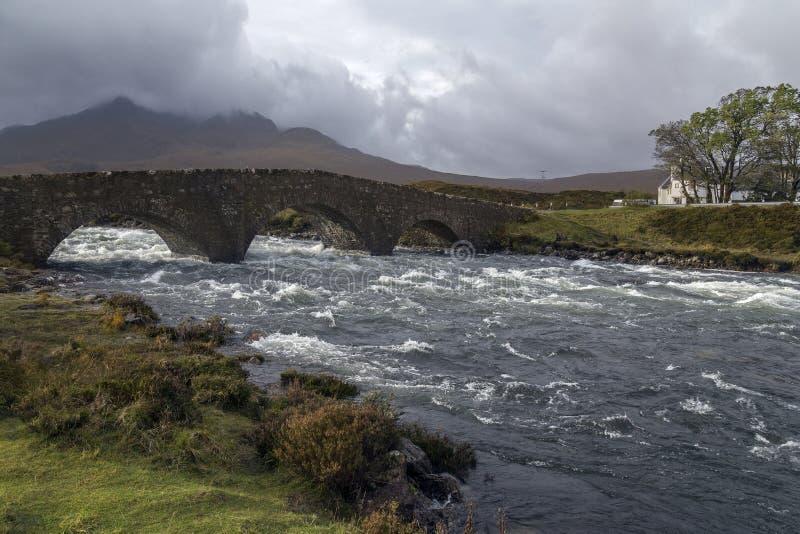 Eiland van Skye - Schotland royalty-vrije stock fotografie