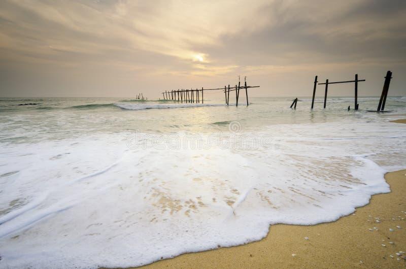 Eiland in zuidelijk van Thailand stock fotografie