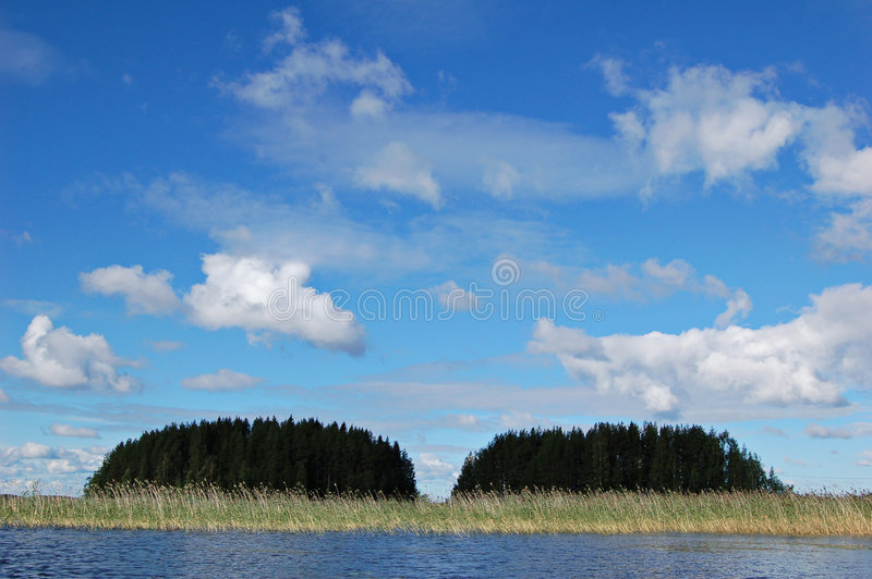 Eilanden stock foto