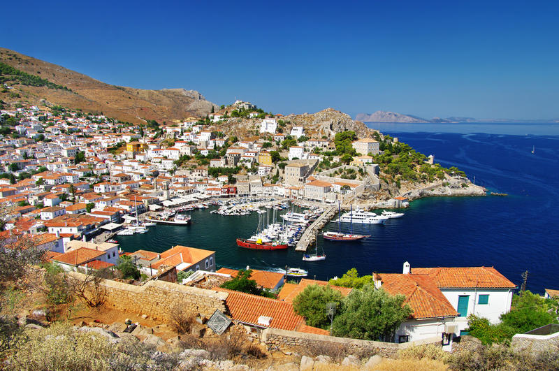 Eilanden Griekenland royalty-vrije stock foto