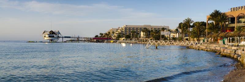eilat水下以色列的餐馆 免版税库存照片