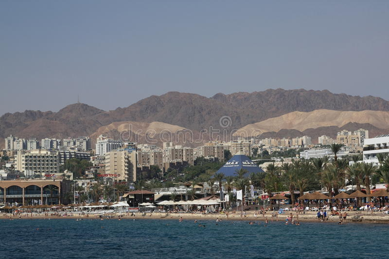 Eilat images stock