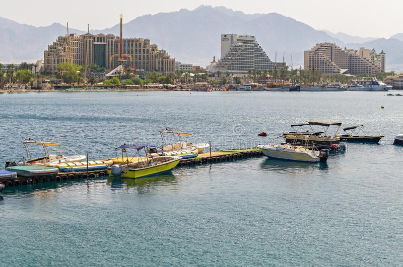 Eilat, Israel - April 18, 2018 royalty free stock image