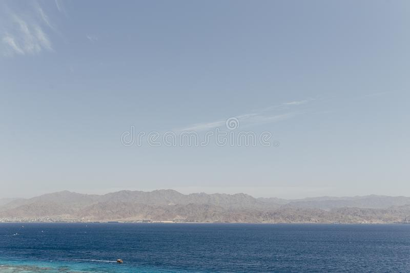 Eilat Israel Landscapes & vacation destination royalty free stock images