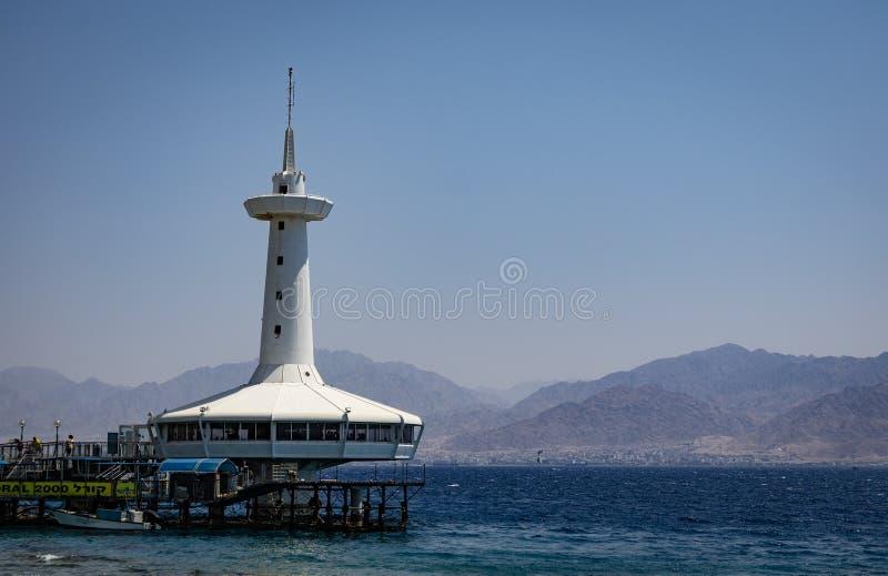 Eilat, Israel Underwater Observatory Marine Park stock photos