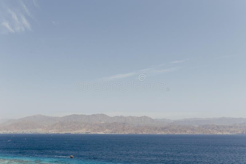 Eilat Izrael krajobrazy & urlopowy miejsce przeznaczenia obrazy royalty free