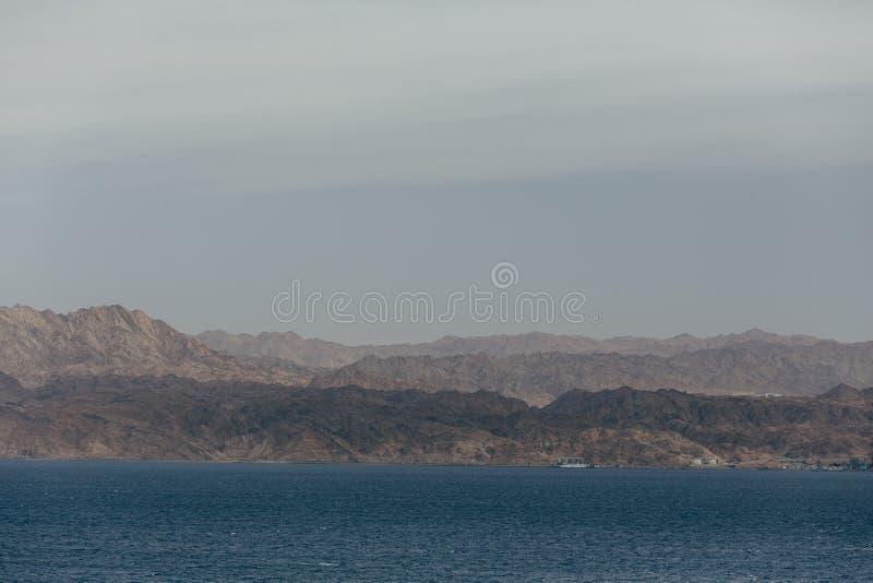 Eilat Izrael krajobrazy & urlopowy miejsce przeznaczenia obraz royalty free