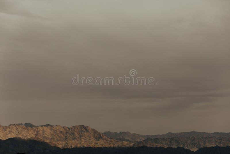 Eilat Izrael krajobrazy & urlopowy miejsce przeznaczenia zdjęcie royalty free