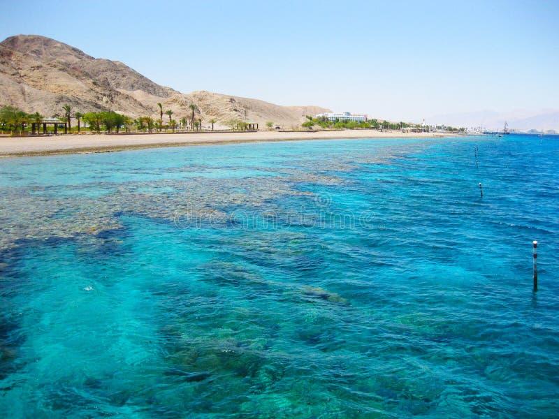 Eilat, la Mer Rouge, Israël photos stock
