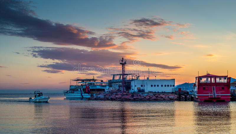 Eilat Marina royalty free stock photos