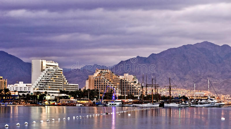 Download Eilat at the morning stock image. Image of light, luxury - 14312635