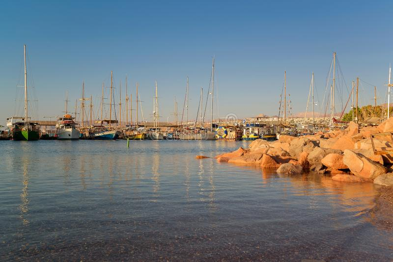 Eilat, The Red sea, fishing stock photography