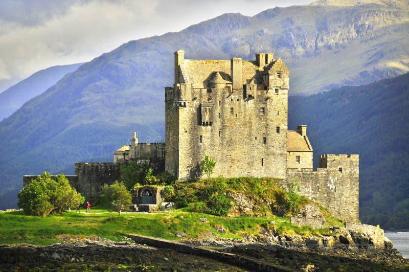 eilean замока donan стоковые фотографии rf