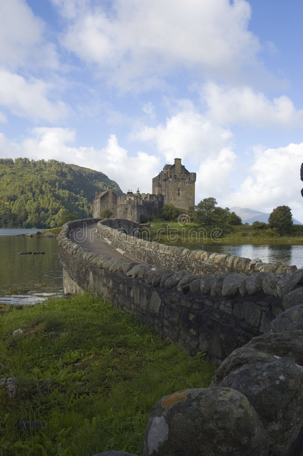 eilean замока donan стоковые фото