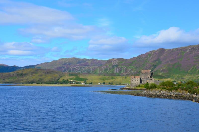 Eilean Donan城堡, Dornie,苏格兰 免版税库存照片
