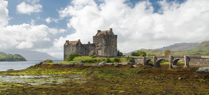 Eilean Donan城堡,苏格兰 免版税库存照片