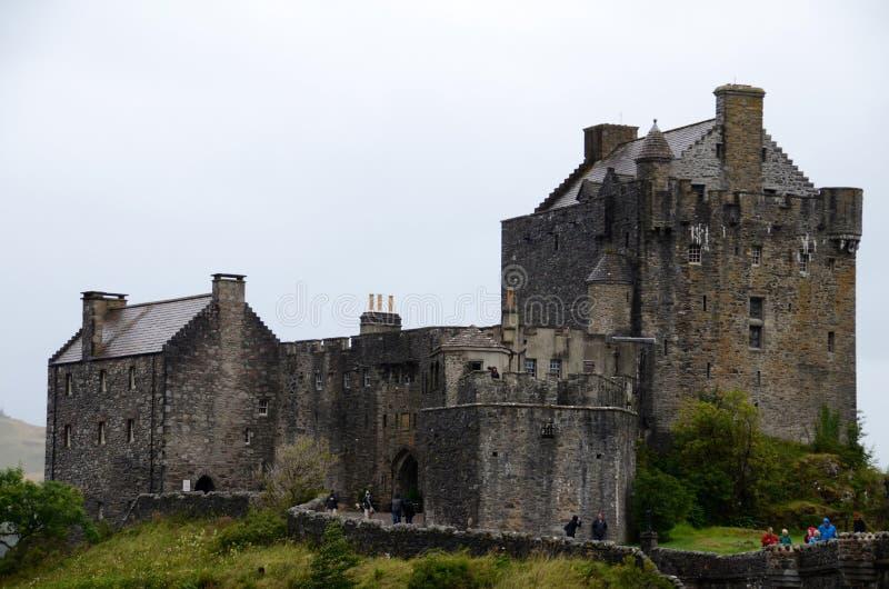 Eilean Donan城堡, Dornie 免版税库存照片