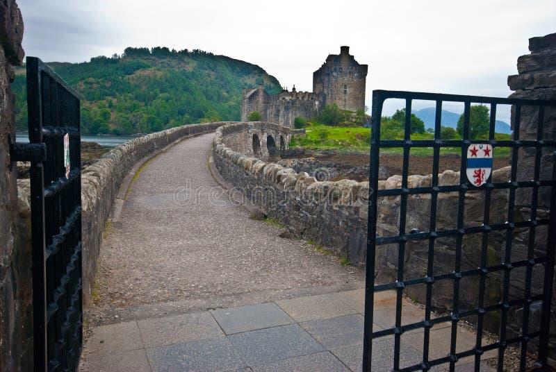 Eilean Donan Castle royalty free stock photo