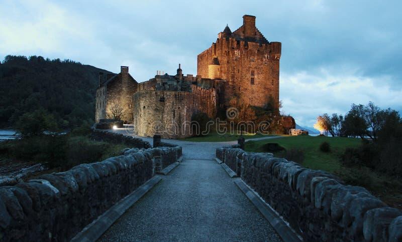 Eilean Donan Castle stockbild