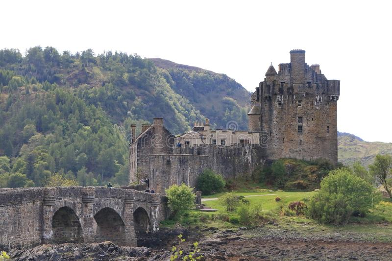 Eilean Donan Castle, Dorney, Escócia imagens de stock