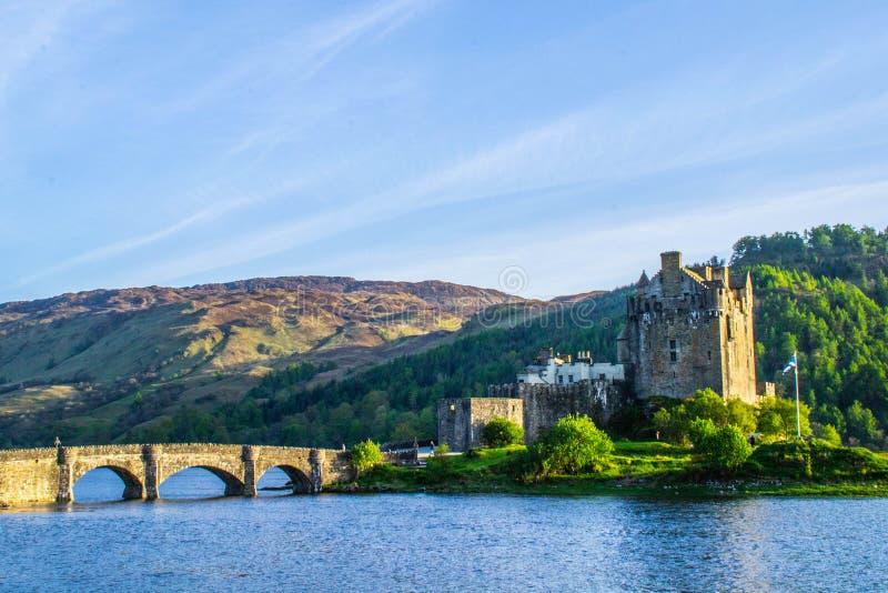 Eilean Donan Castle, Eiland van Skye, Schotland royalty-vrije stock foto