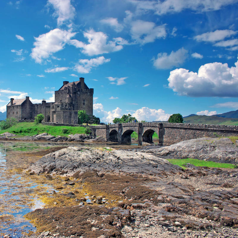 Free Eilean Donan Castle In Scotland Royalty Free Stock Images - 12235589