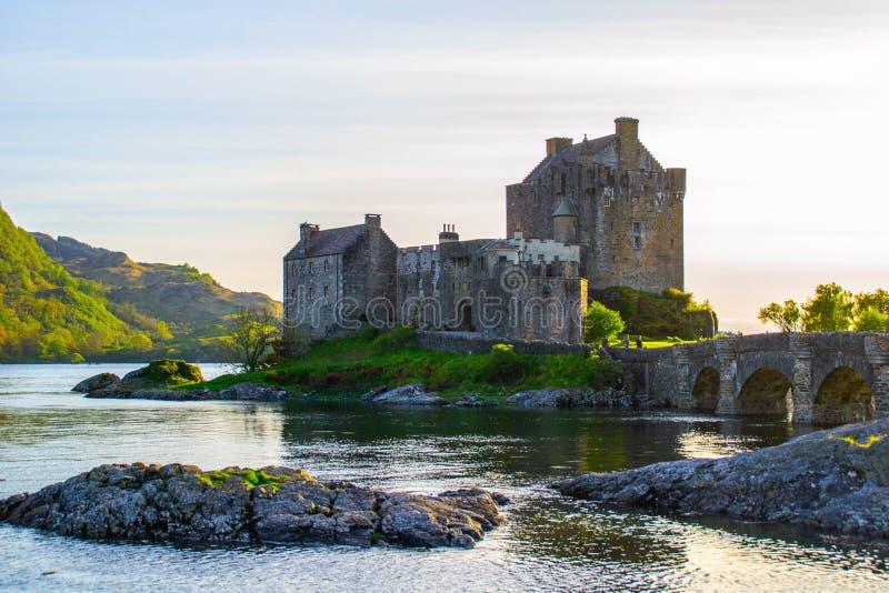 Eilean Donan Castle, isola di Skye, Scozia fotografia stock