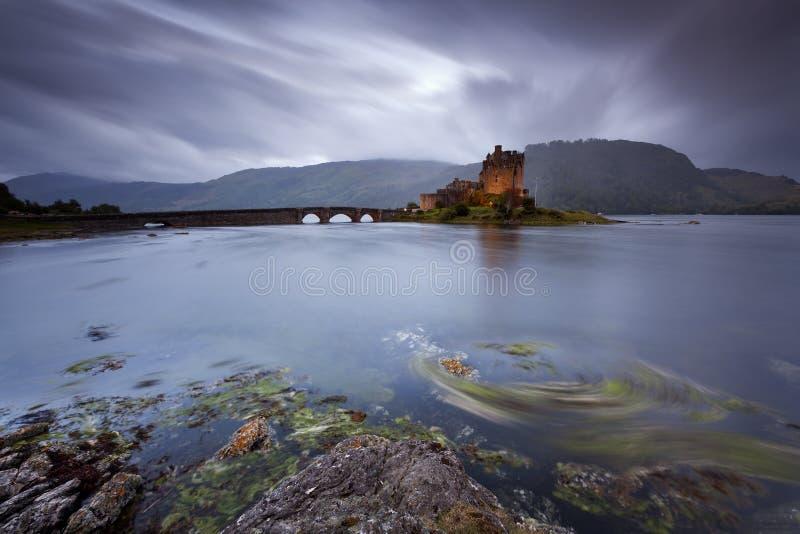 Eilean Donan Castle IX immagine stock libera da diritti