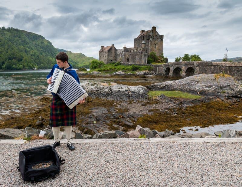 Eilean Donan Castle - l'Ecosse, Royaume-Uni images libres de droits