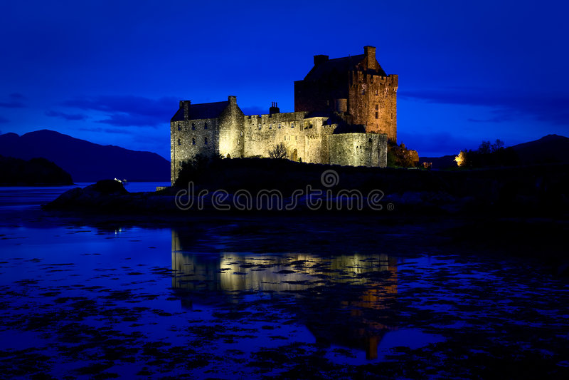 Download Eilean Donan Castle, Loch Duich, Scotland Stock Photo - Image: 7351300