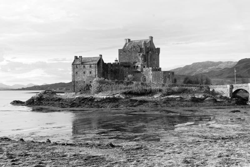 Eilean Donan Castle and Loch stock image