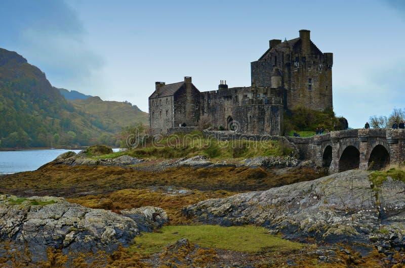 Eilean Donan Castle Scotland fotografia stock