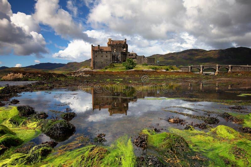 Eilean Donan Castle Scotland Regno Unito fotografie stock libere da diritti