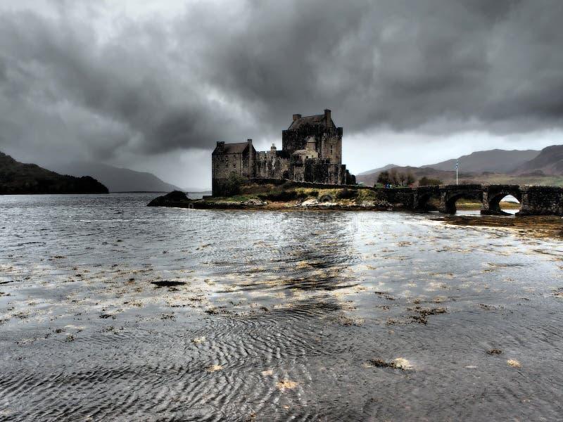 Eilean Donan Castle - Scottish Highlands. Eilean Donan Castle in the Scottish Highlands royalty free stock photography