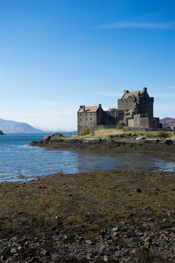 Eilean Donan Castle, Scozia, isola, di, skye fotografie stock