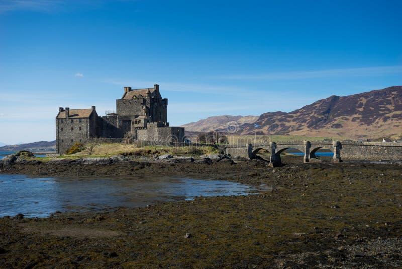 Eilean Donan Castle, Scozia, isola, di, skye fotografia stock