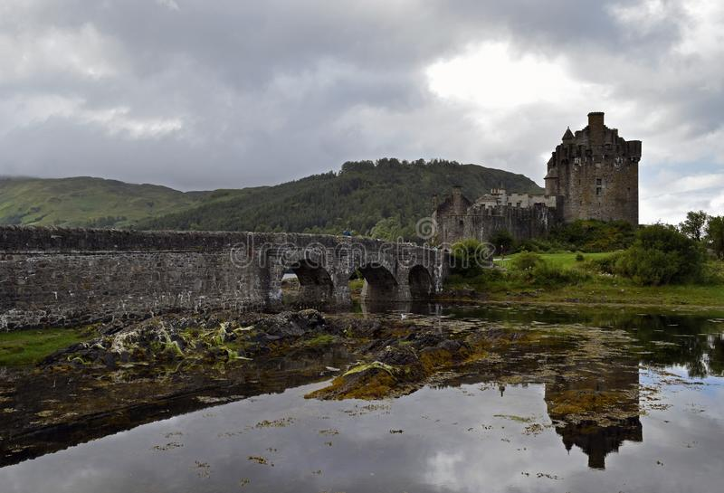 Eilean Donan Castle a 13th century fortress stock photos