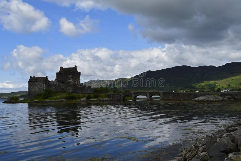 Eilean Donan Castle a 13th century fortress royalty free stock images