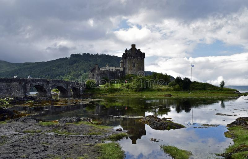 Eilean Donan Castle a 13th century fortress royalty free stock photos