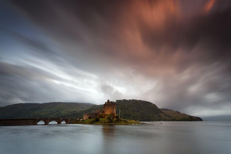 Eilean Donan Castle VII immagini stock libere da diritti
