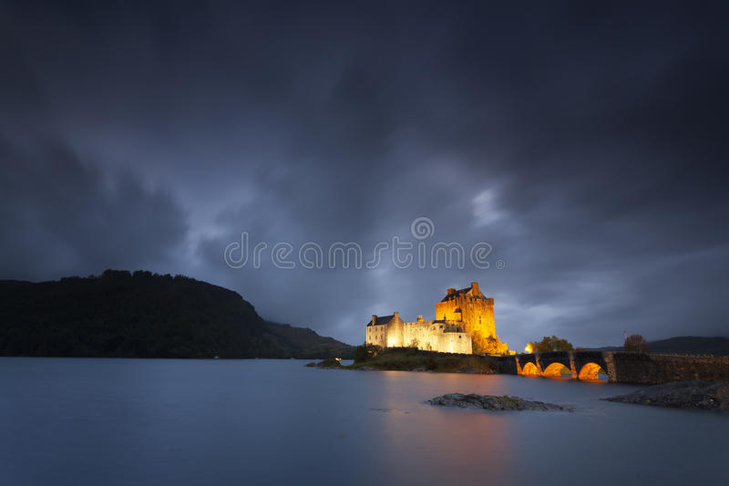 Eilean Donan Castle VIII fotografia stock