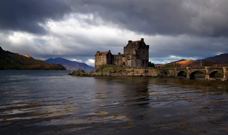 Eilean Donan Schloss stockbild